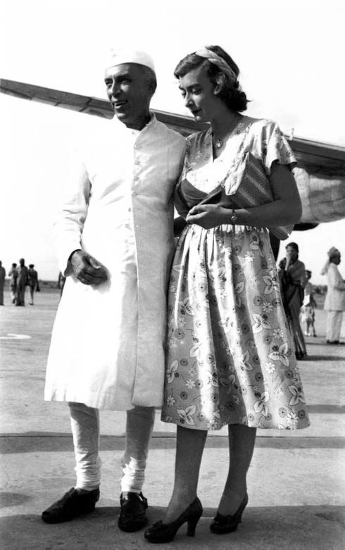 Nehru with Lady Mountbatten